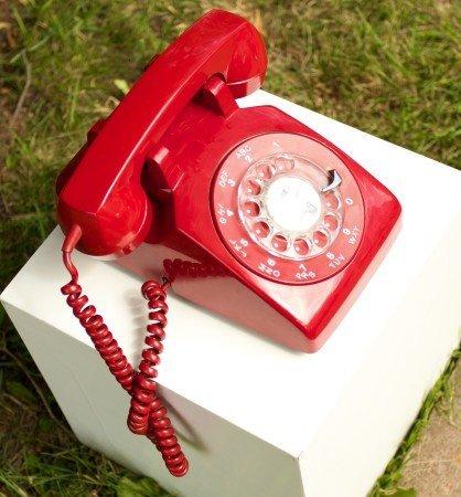 Rotary dial phone, Ears Pricked Eyes Peeled