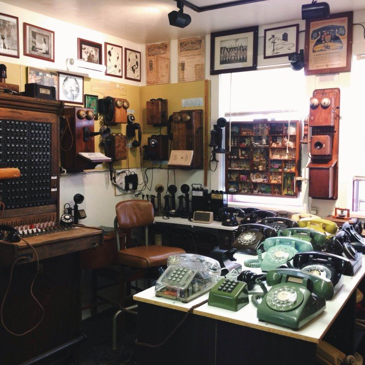 Telephone Museum of PEI interior