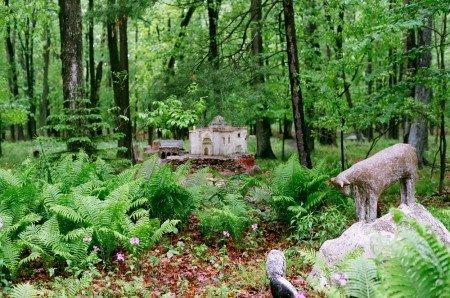 James Tellen's Woodland Sculpture Garden 3