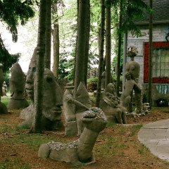 Mary Nohl Concrete sculptures