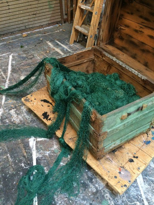 Update from The Builders - netting treasure chest
