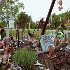 Island art environments - Alberton, PEI garden 5
