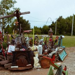 Island art environments - Alberton, PEI garden 6
