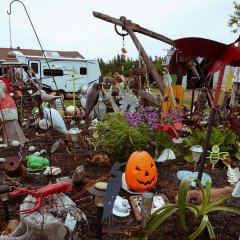 Island art environments - Alberton, PEI garden 8
