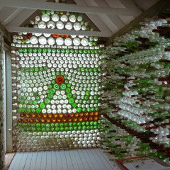 Island art environments - PEI Bottle Houses 3
