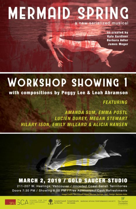 Mermaid Spring workshop poster